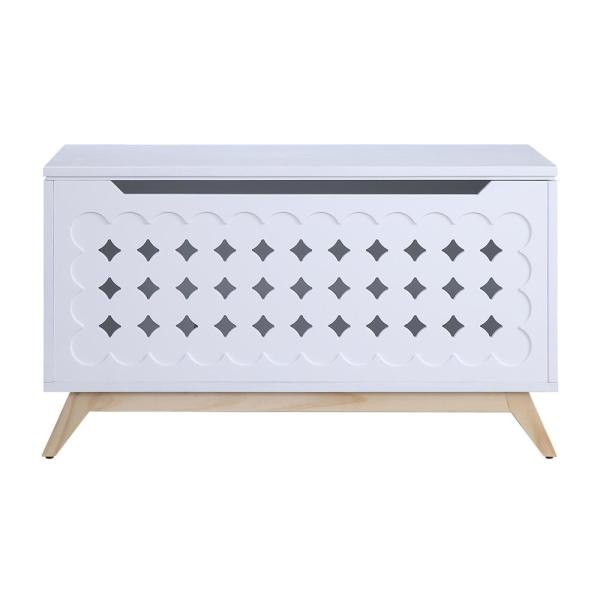 Acme Furniture Doll Cottage White and Natural Youth Chest 97631