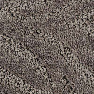 Carpet Sample - Echo Creek - Color Copenhagen Pattern 8 in. x 8 in.