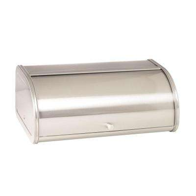 Brushed Steel Bread Box