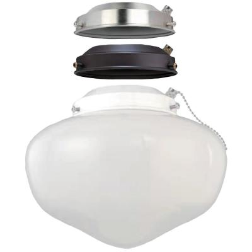 Multi-colored Ceiling Fan Globe LED Light Kit