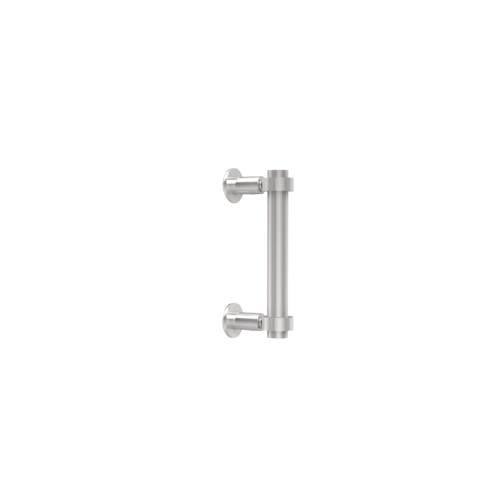Contemporary 6 in. Back to Back Shower Door Pull in Polished