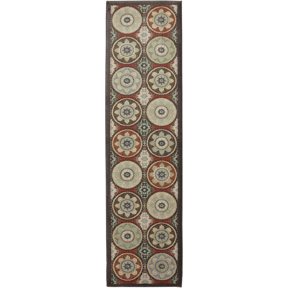 American Rug Craftsmen Cliff Lodge Coco 2 ft. 1 in. x 7 ft. 10 in. Runner