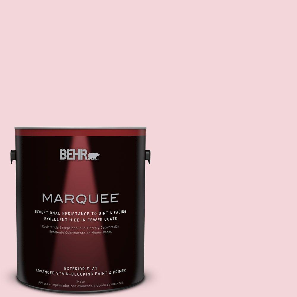 BEHR MARQUEE 1-gal. #P140-1 Summer Crush Flat Exterior Paint
