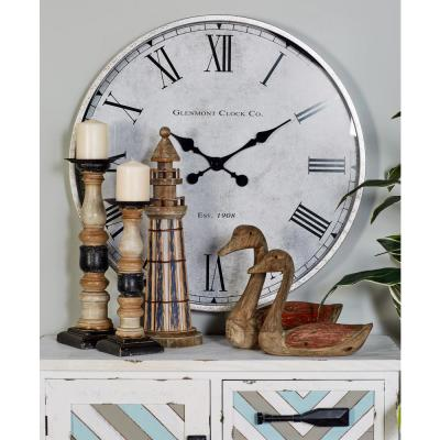 CosmoLiving by Cosmopolitan Multi-Colored Contemporary Analog Wall Clock
