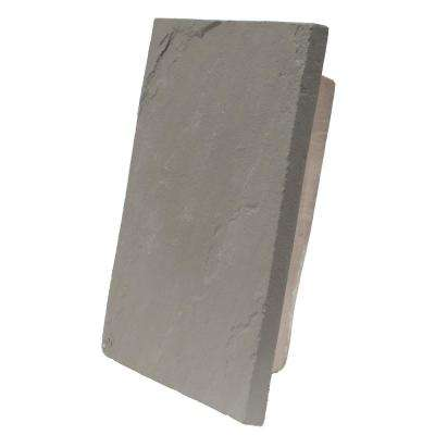 Sandstone Gray 10 in. x 13 in. Faux Polyurethane Universal Large Mounting Block