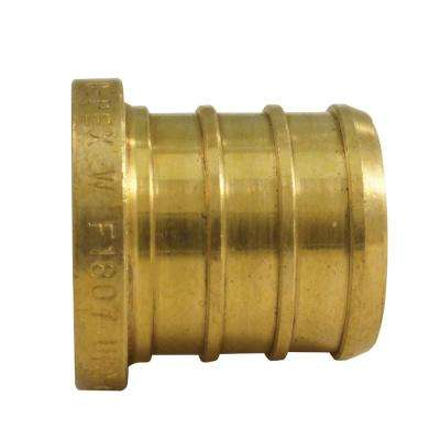 3/4 in. Brass PEX Barb Plug