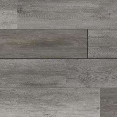 Aubrey Stormy Sea 9 in. x 60 in. Rigid Core Luxury Vinyl Plank Flooring (48 cases/1077.12 sq. ft./pallet)