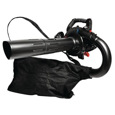 205 MPH 450 CFM 27cc 2-Cycle Full-Crank Engine Gas Leaf Blower with Vacuum Kit Included
