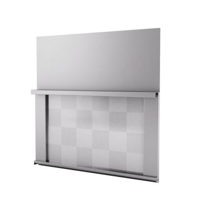 Omega 30 in. x 30 in. Stainless Steel Backsplash