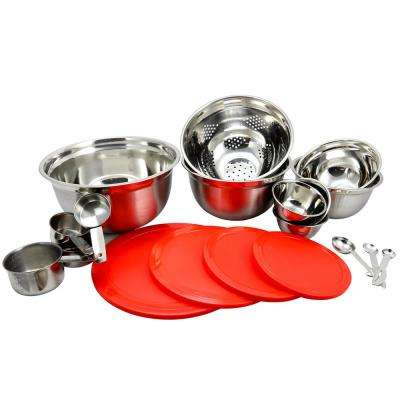 Branfield 21-Piece Mixing Bowl Set with Measuring Accessories