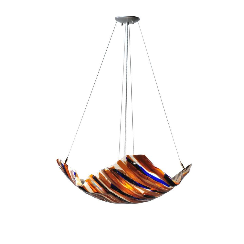 Illumine 4 Light Oceano Fused Inverted Pendant