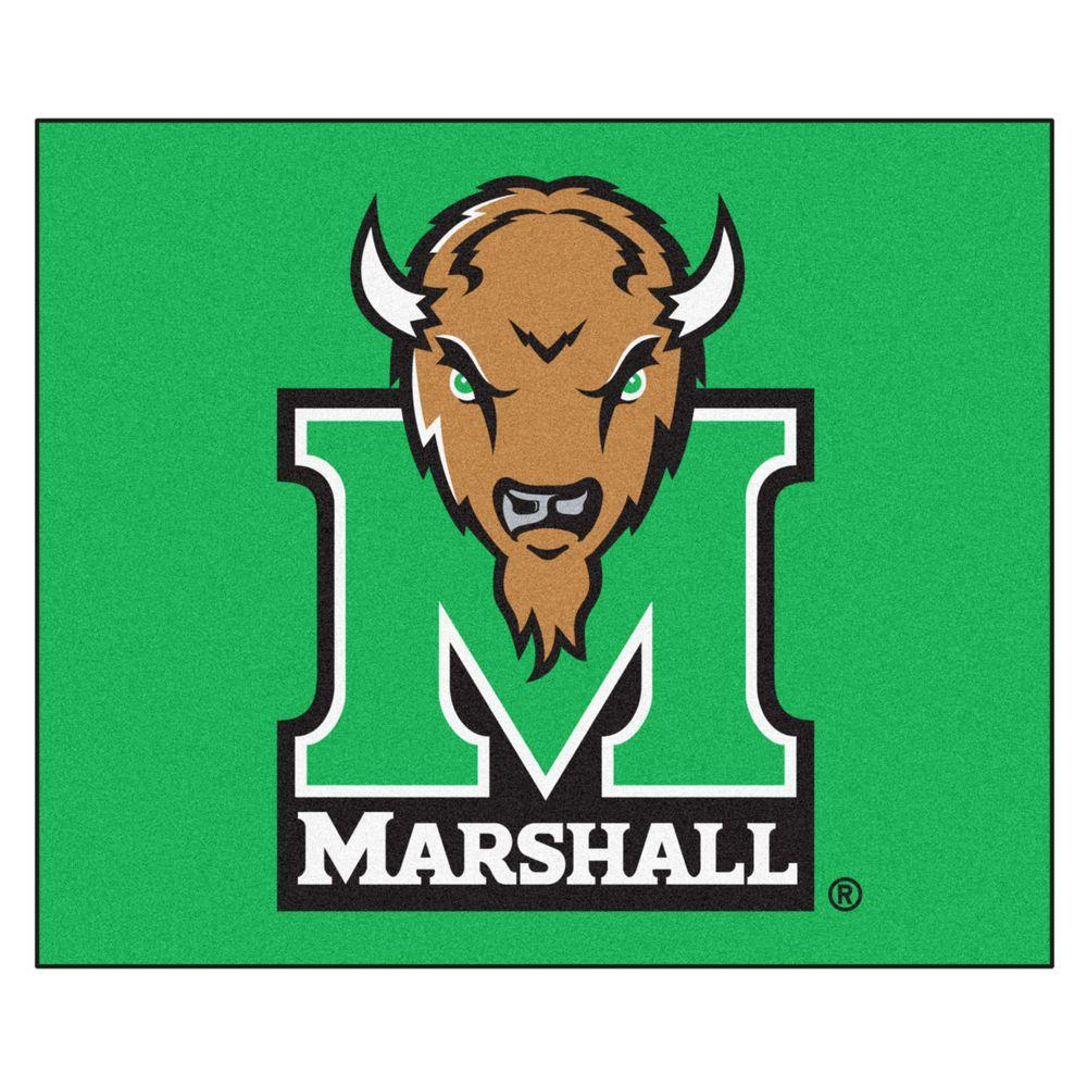 Fanmats Marshall University 5 Ft X 6 Ft Area Rug 3912