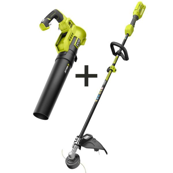 40-Volt X Lithium-Ion Cordless Attachment Capable String Trimmer and 40-Volt Lithium-Ion Cordless Blower (Tools-Only)