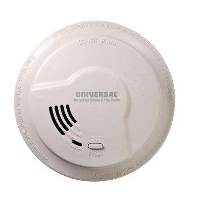 9V Battery Operated Ionization Smoke And Fire Detector