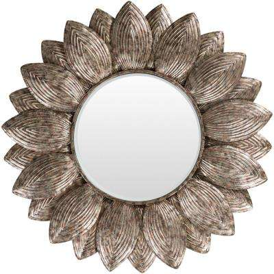 Casimir 36 in. x 36 in. Metal Framed Mirror