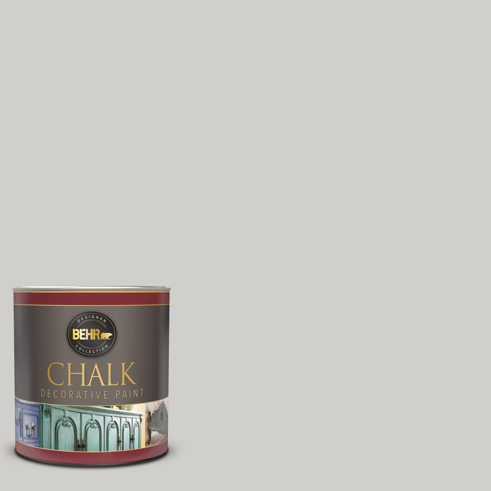 BEHR 1 qt. #BCP39 Trellis Gray Interior Chalk Decorative Paint