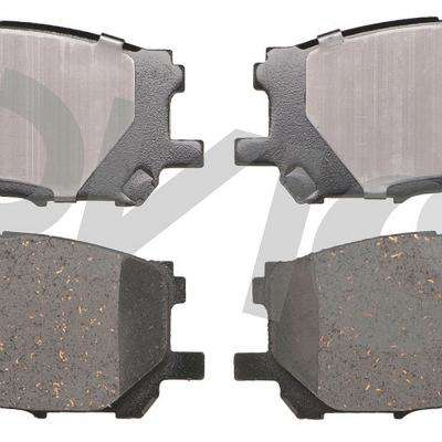 Front OE Disc Brake Pad Set fits 2006-2007 Toyota Highlander