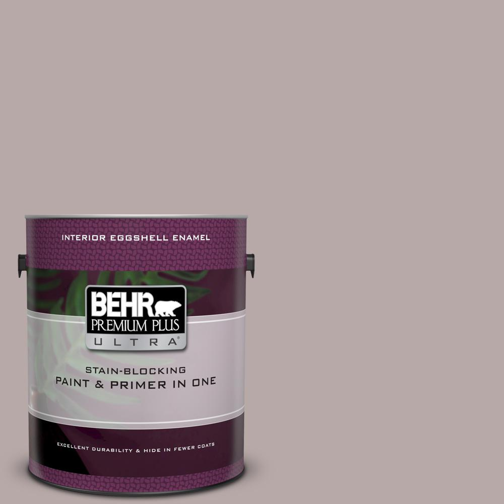 BEHR Premium Plus Ultra 1 gal  #MQ1-36 Object of Desire Eggshell Enamel  Interior Paint and Primer in One
