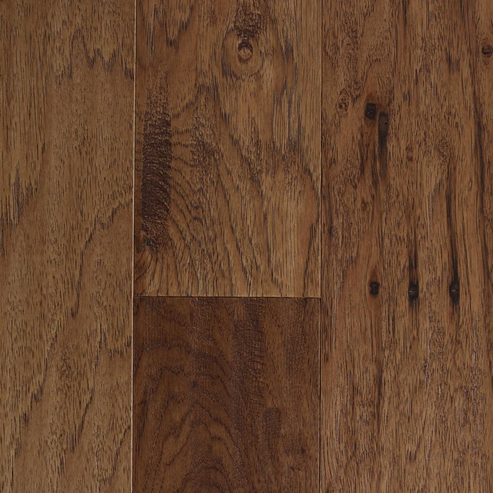 Scraped Hickory Vintage Barrel 3/8 in. T x 5 3/8 in. W x Random L Click Lock Engineered Hardwood Flooring (22 sq. ft.)