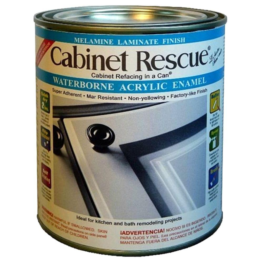 CABINET RESCUE 31 oz. Melamine Laminate Finish Paint-DT43 - The Home ...