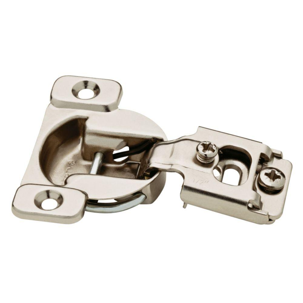 Liberty 35 mm 105-Degree 1/2 in. Overlay Cabinet Hinge (5-Pairs)