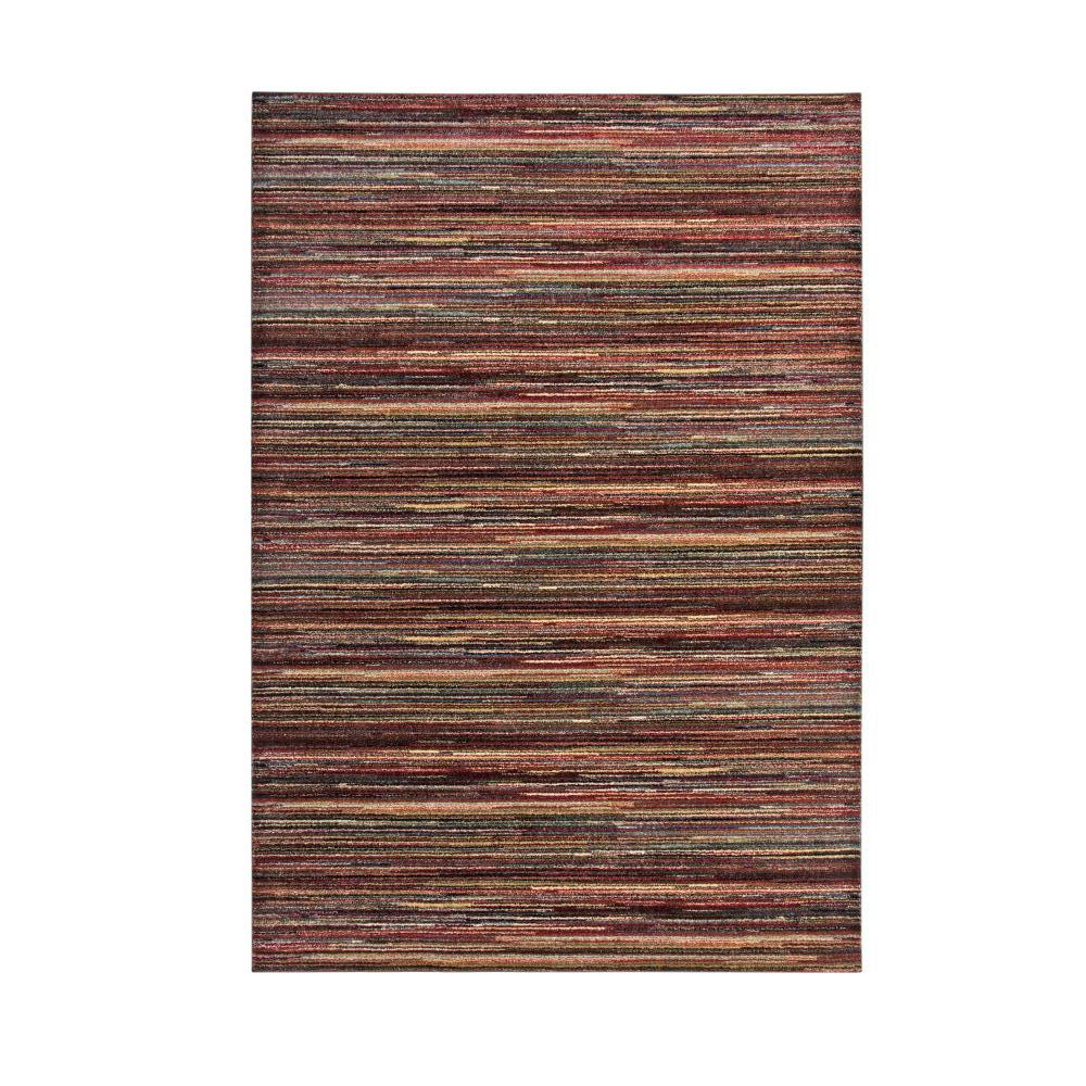 Sams International Ava Khloe Red Multi 8 Ft X 10 Ft Area