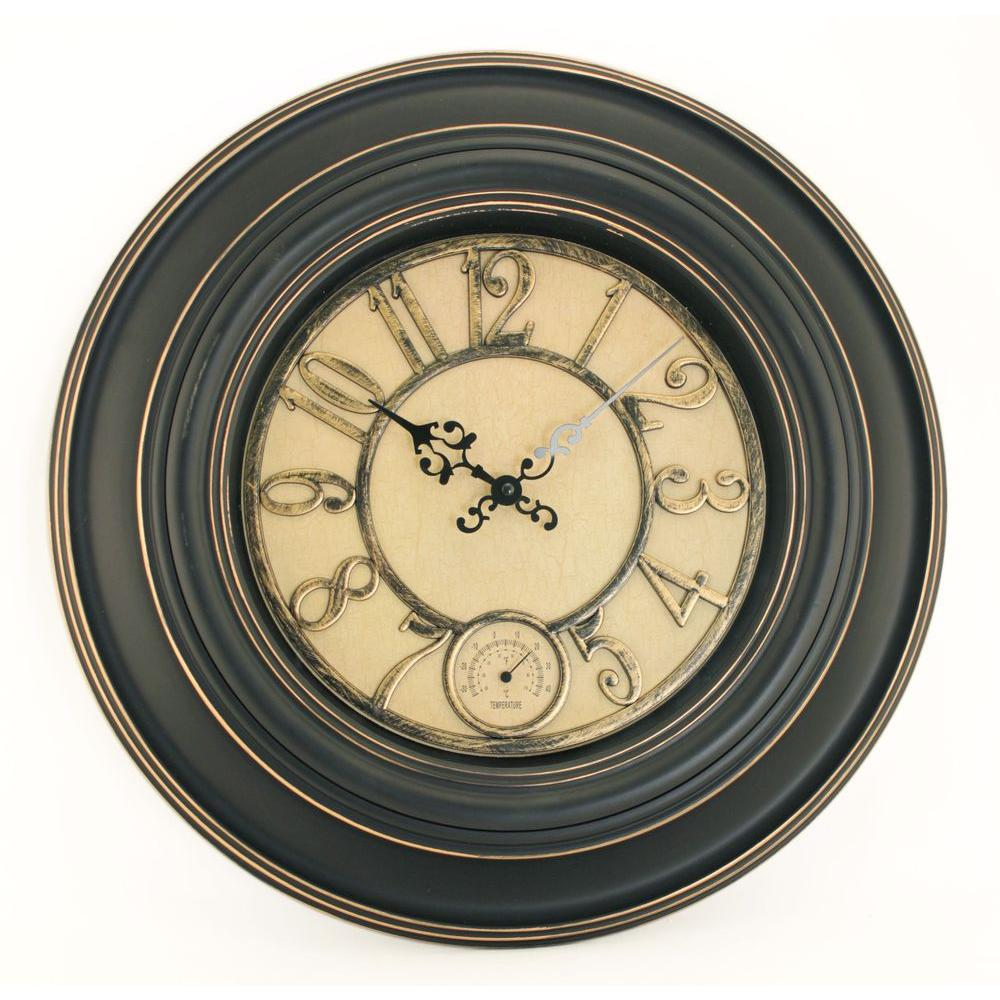 NexTime London 17.75 in. Circle Wall Clock-DISCONTINUED