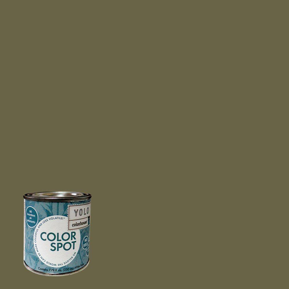 YOLO Colorhouse 8 oz. Glass .06 ColorSpot Eggshell Interior Paint Sample-DISCONTINUED