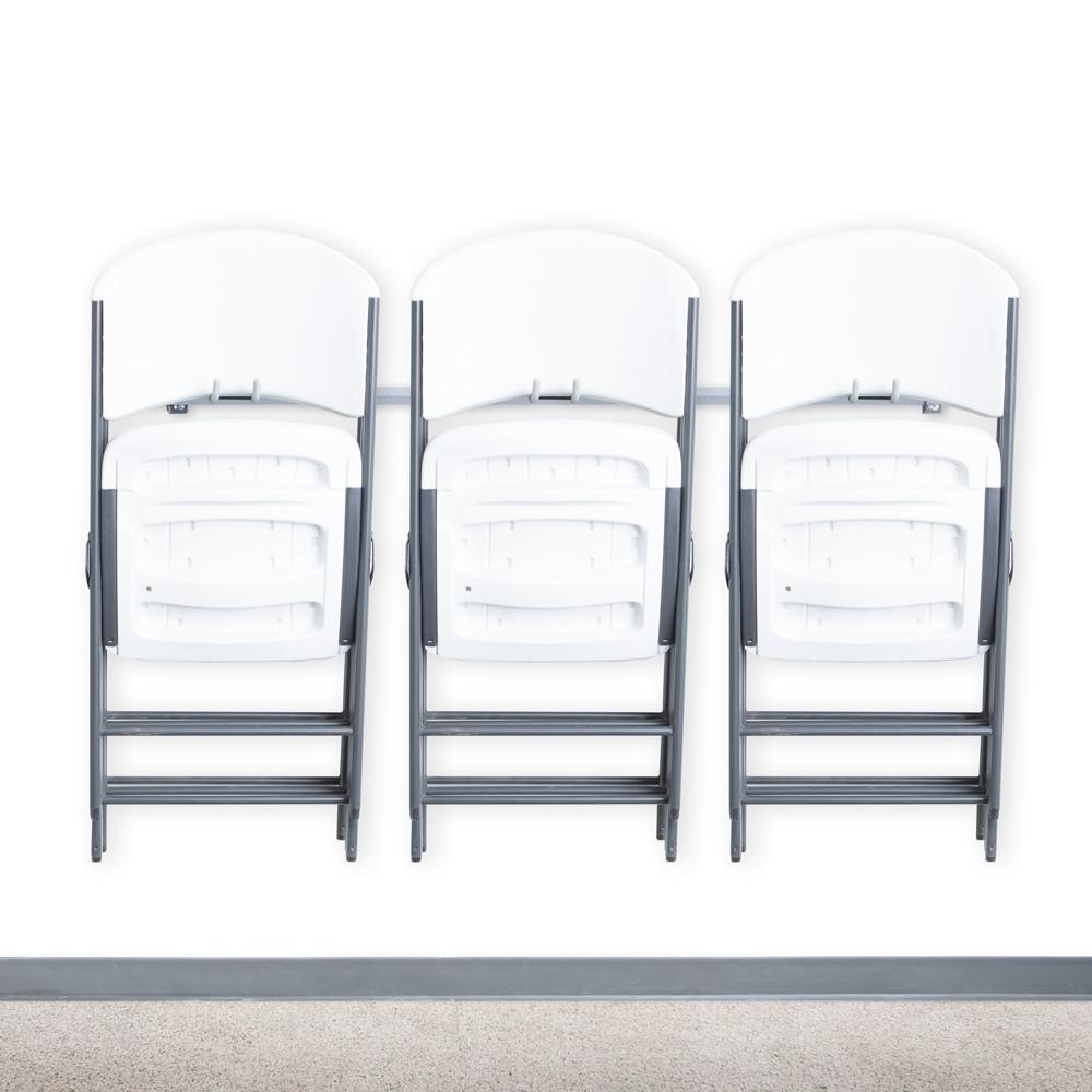 15-Folding Chair Rack