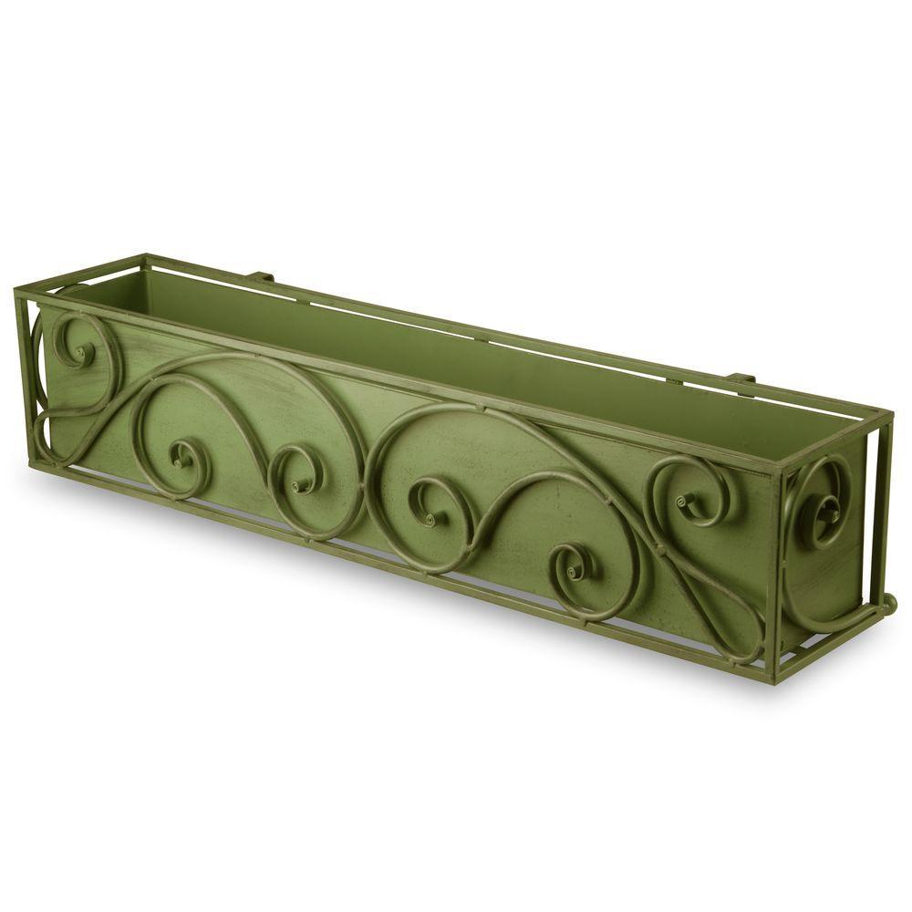 30 in. Garden Accents Decorative Plant Box
