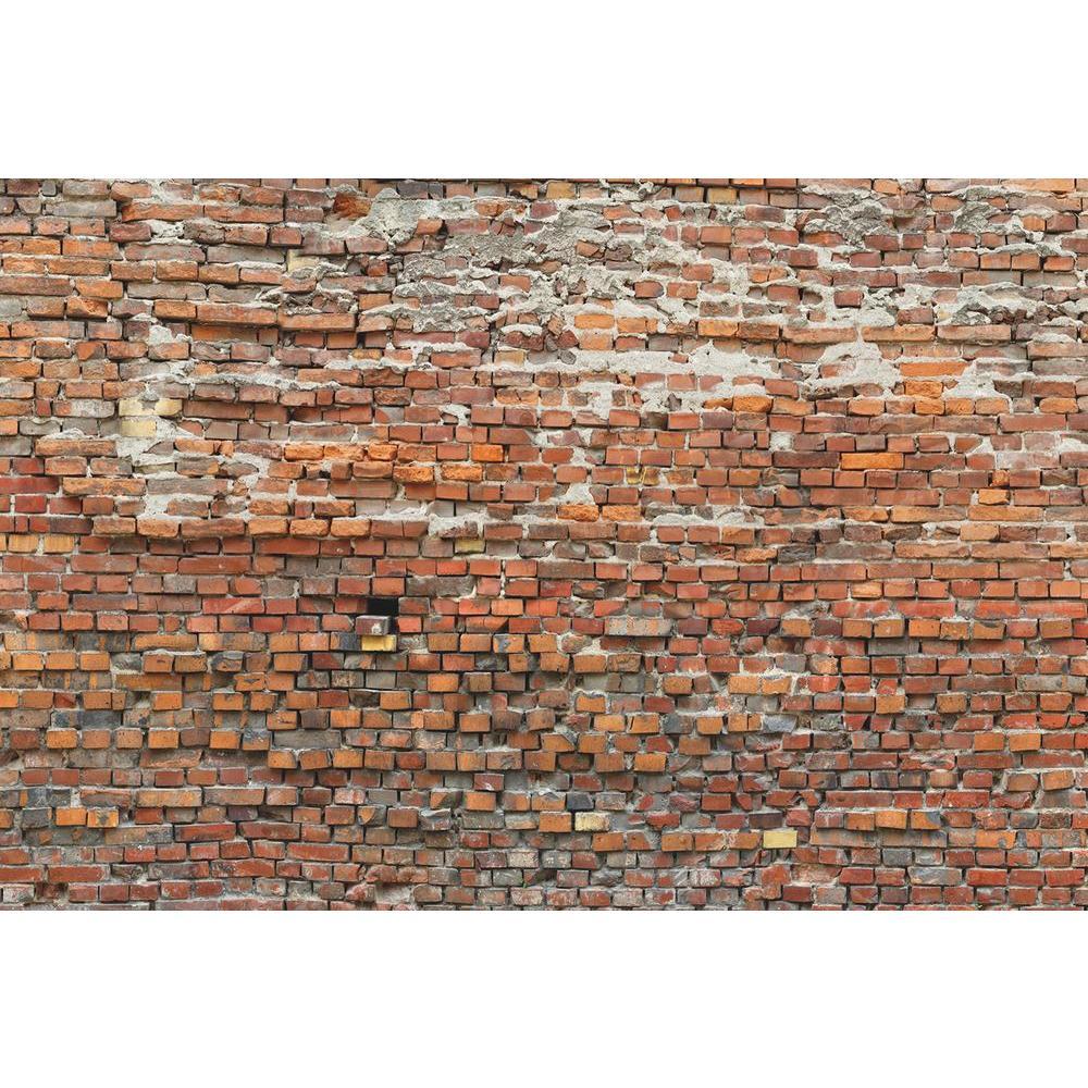 Komar 98 in. H x 145 in. W Bricklane Wall Mural