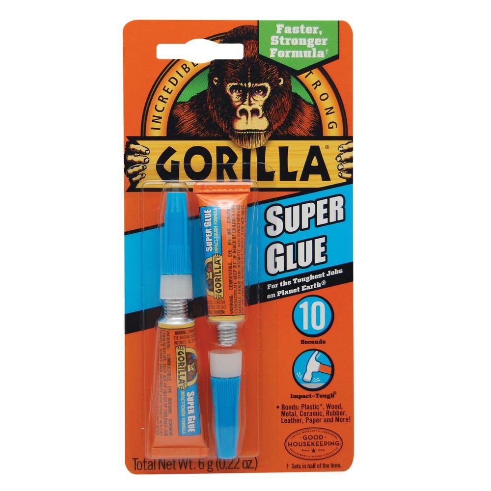 Gorilla Super Glue Tubes (12-Pack) by Gorilla