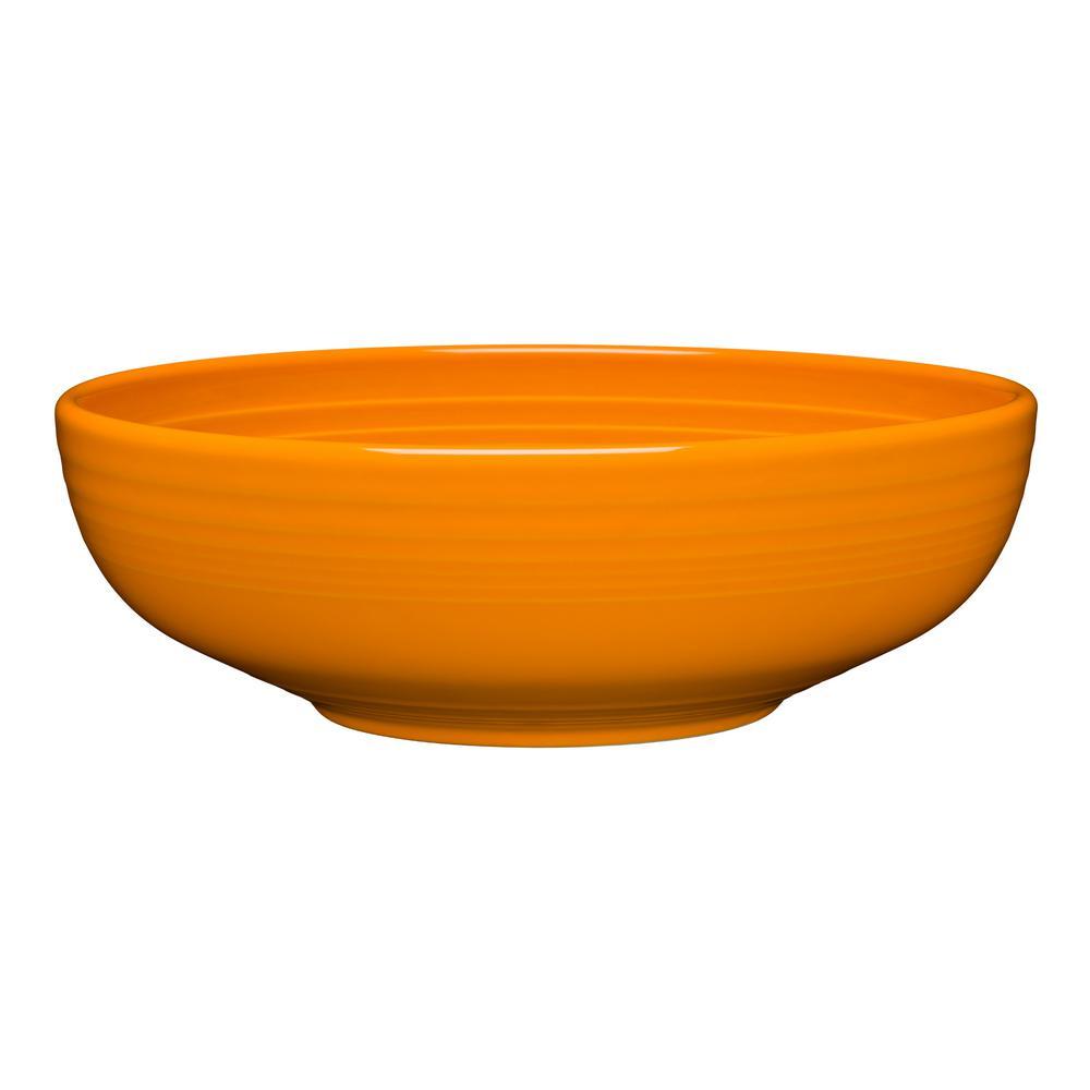9.62 in. 68 oz. Butterscotch Ceramic Large Bistro Bowl