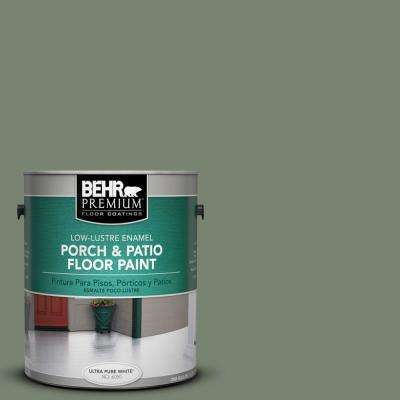 1 gal. #ICC-77 Sage Green Low-Lustre Porch and Patio Floor Paint