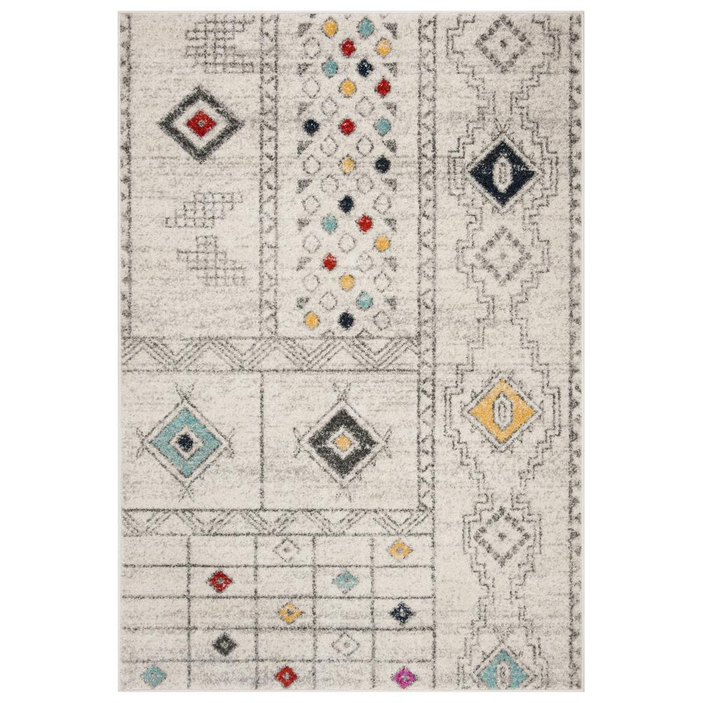 Safavieh Adirondack Light Gray Aqua 4 Ft X 6 Area Rug
