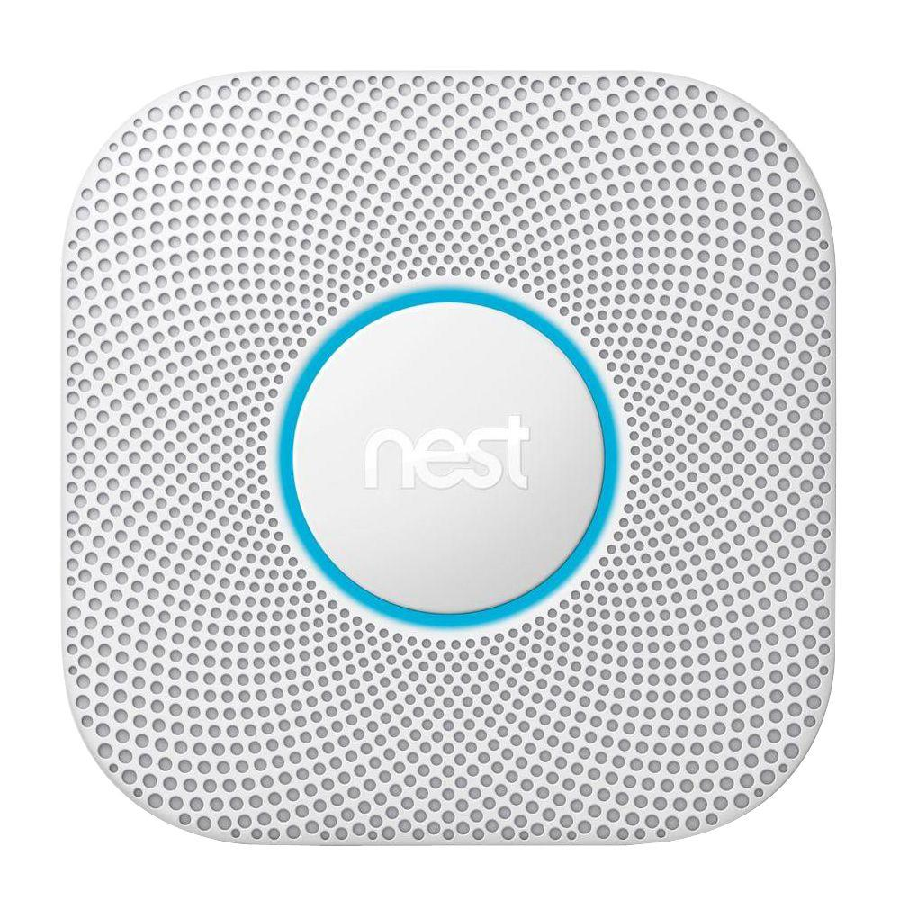 Google Nest Protect Wired Smoke and Carbon Monoxide Detector