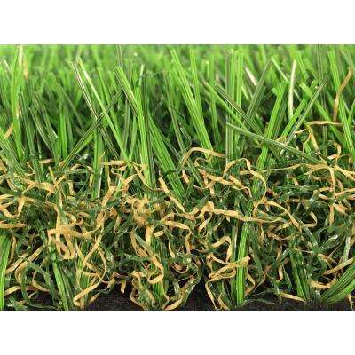 GREENLINE Colorado Pro 75 Artificial Grass Synthetic Lawn Turf Carpet for Outdoor Landscape 15 ft. x Custom Length