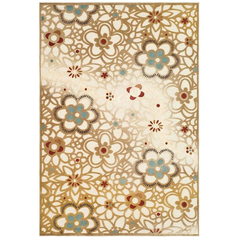 Safavieh paradise taupe beige 4 ft x 5 ft 7 in area rug for Area 604