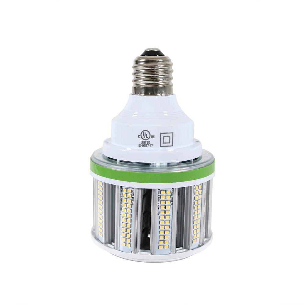 40-Watt Equivalent Mogul E39 Base Corn 125-Watt - 200-Watt Metal Halide LED Light Bulb 5000K in White (1-Bulb)
