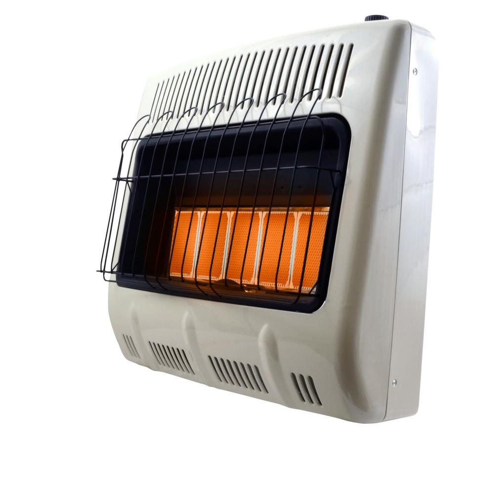 Mr Heater 30 000 Btu Vent Free Radiant Propane W Battery