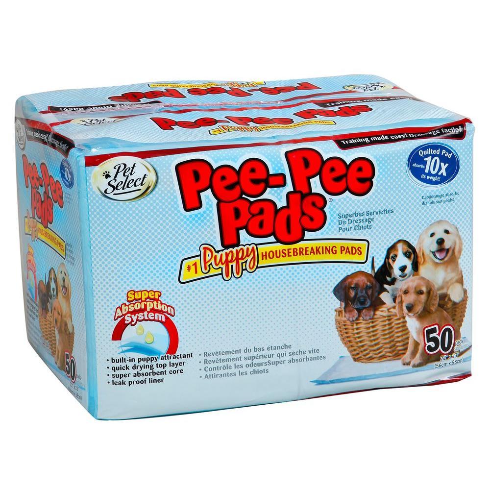 PetSelect Pee-Pee Pads (50-Pack)