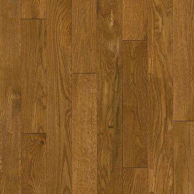 Plano Oak Spice 3/4 in. Thick x 3-1/4 in. Wide x Varying Length Scraped Solid Hardwood Flooring (22 sq. ft. / case)