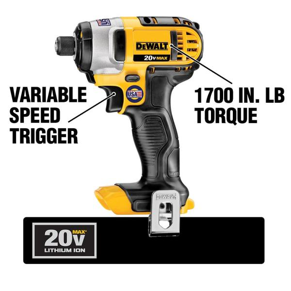 Dewalt 20 Volt Max Lithium Ion Cordless Hammer Drill Impact Driver Combo Kit 2 Tool With 2 Batteries 3 0ah Charger And Bag Dck290l2 The Home Depot