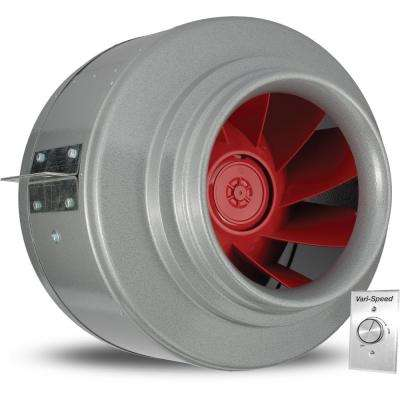 Powerfan V-Series 2050 CFM Inline Fan with Vari-Speed Kit
