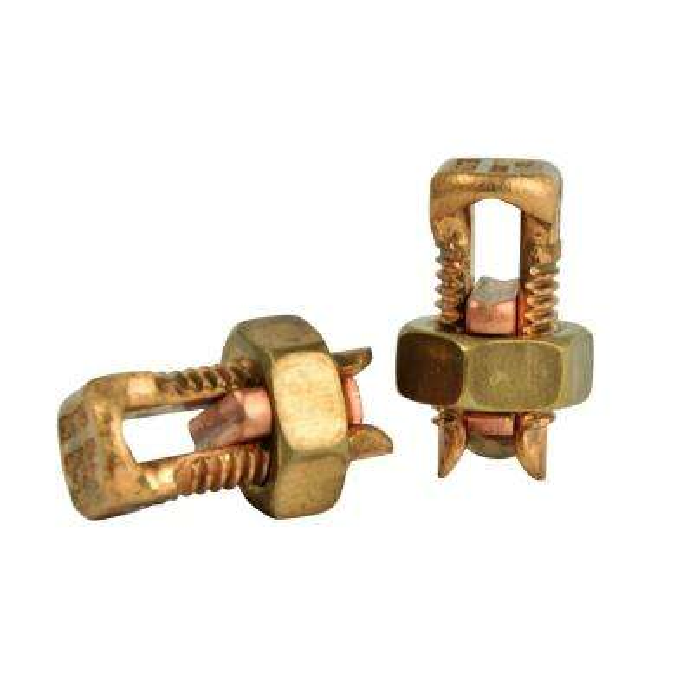 6 AWG Copper Split Bolt Connector (2-Pack) Case of 10
