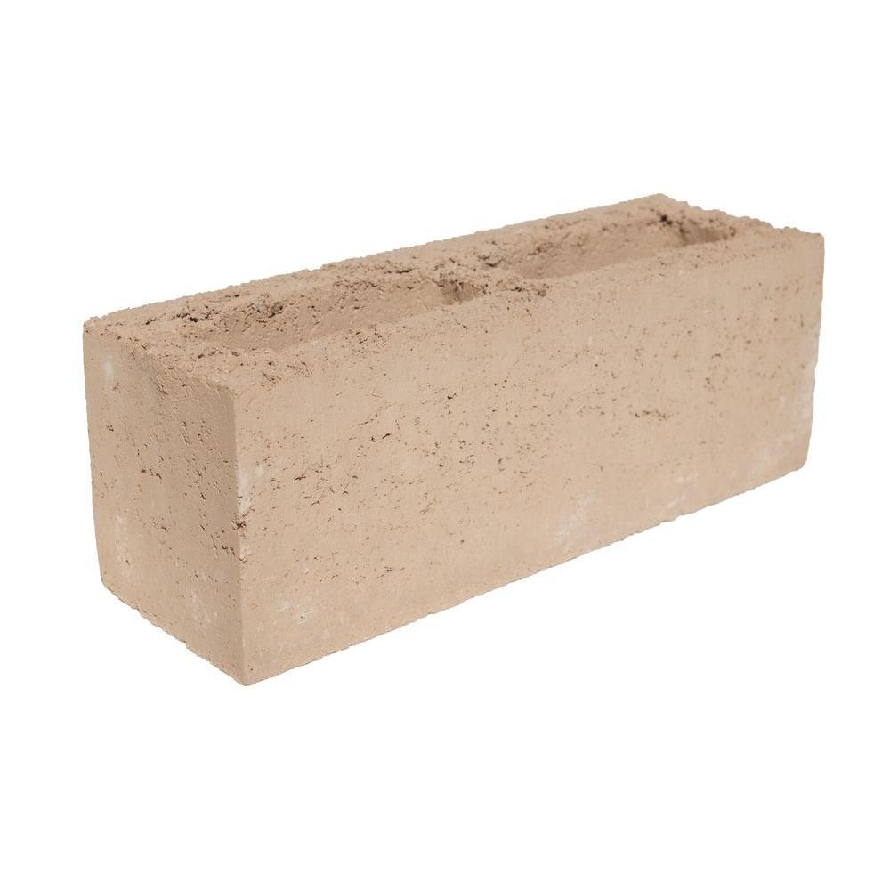 Angelus Block 6 in  x 6 in  x 16 in  Concrete Slump Stone Block
