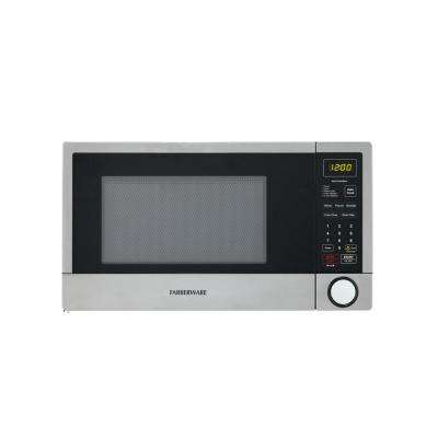 1.3 cu. ft. 1100-Watt Countertop Microwave in White with Smart Sensor