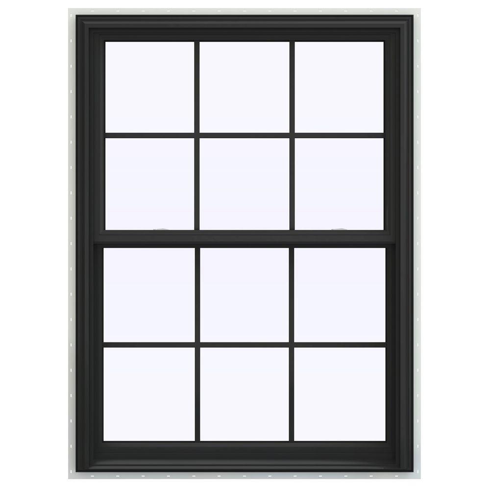 Jeld wen 39 5 in x 59 5 in v 2500 series double hung for Buy jeld wen windows online