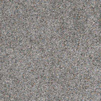 Carpet Sample - Humboldt I - Color Evening Sky Texture 8 in. x 8 in.