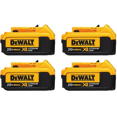 20-Volt MAX XR Premium Lithium-Ion 4.0Ah Battery Pack (4-Pack)